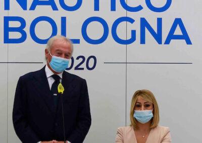 Da sx: Gennaro Amato (pres. Snidi); On. Michela Rostan (V.Pres. Commissione Affari Sociali camera dei Deputati);