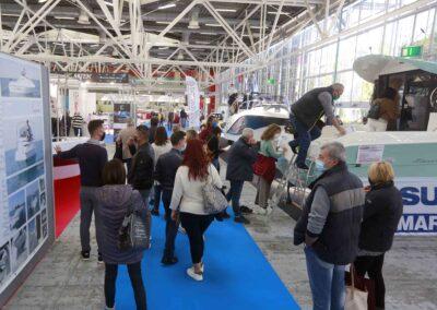 18 ottobre 2020 gente al salone nautico di Bologna