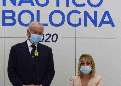 Da sx: Gennaro Amato (pres. Snidi); On. Michela Rostan (V.Pres. Commissione Affari Sociali camera dei Deputati)