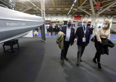 Salone nautico di Bologna: Inaugurazione e conferenza stampa